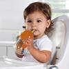 Поильник - чашка Click Lock с трубочкой и ручками 207 мл ц. оранжевый
