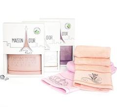 BAMBU  БАМБУ полотенце махровое в коробке Maison Dor(Турция).