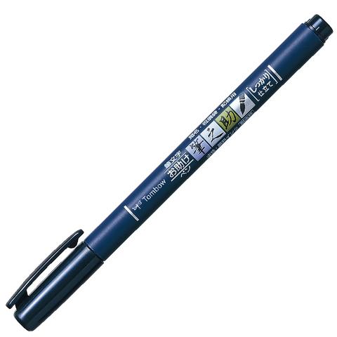 Ручка Tombow Fudenosuke Color (черная)