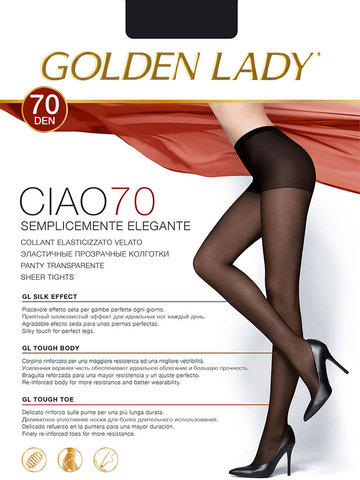 Колготки Ciao 70 Golden Lady