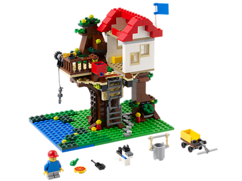 LEGO Creator: Домик на дереве 31010