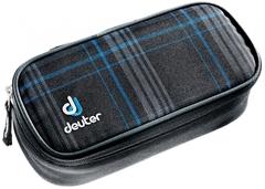 Пенал для школы Deuter Pencil Case blueline-check