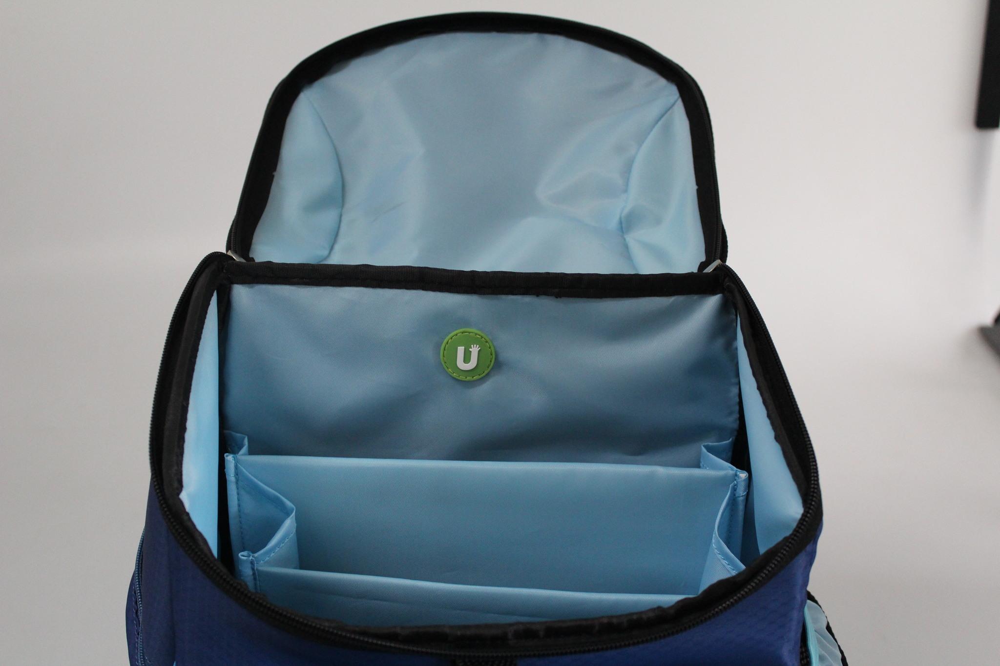 Школьный пиксельный рюкзак Super Class внутреннее пространство