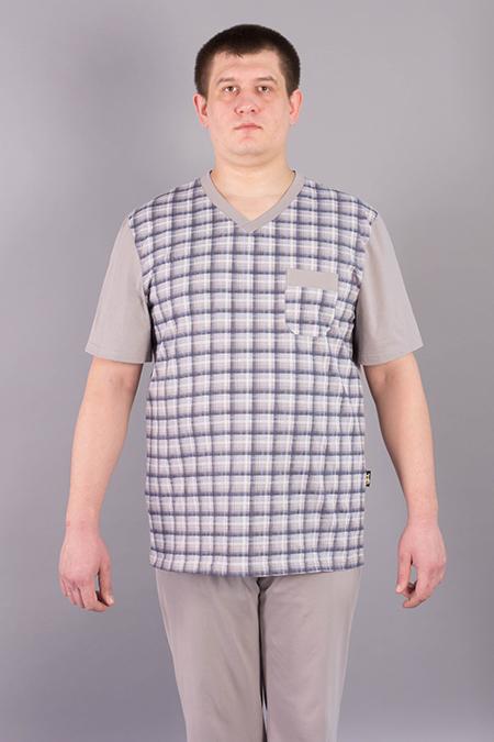 Выкройка мужской футболки