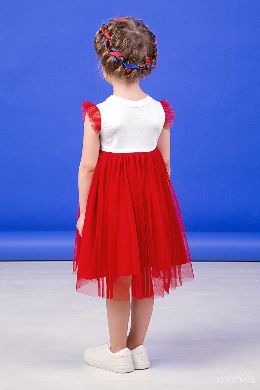 Платье для девочки 38-9019-1