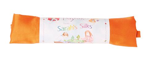 Шёлк игровой 86х86 см оранжевый (Sarah`s Silks)