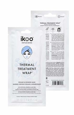 ikoo Thermal Treatment Wrap Volume & Nourish Маска-шапочка Объем и питание