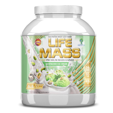LIFE MASS 6lb Pistachio ice cream