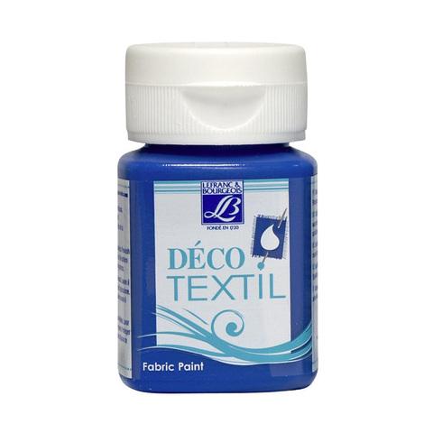 Краска по ткани Lefranc&Bourgeois DECO TEXTIL 50 мл 032, синий