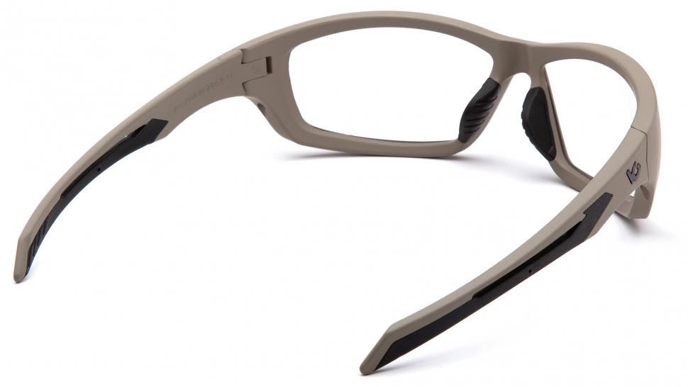 Очки баллистические стрелковые Pyramex Howitzer VGST1310T Anti-fog прозрачные 96%