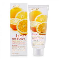 3W Clinic Lemon Hand Cream - Увлажняющий крем для рук с осветляющим экстрактом лимона