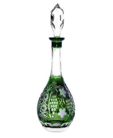 Декантер для вина 750мл Ajka Crystal Grape зеленый