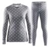 Женский комплект термобелья Craft Mix&Match серый | Интернет-магазин Five-sport.ru