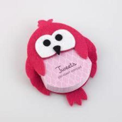 Tweets Notepad owl