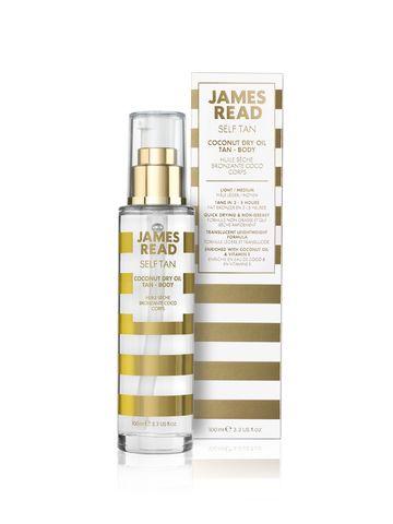 James Read Сухое кокосовое масло с эффектом загара Coconut Dry Oil Tan Body