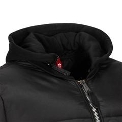 Теплая куртка Alpha Industries MA-1 Natus Quilted Black (Черная)