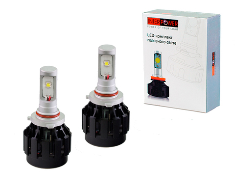 Светодиодные лампы INTERPOWER HB4 CREE 30 W (белый свет)