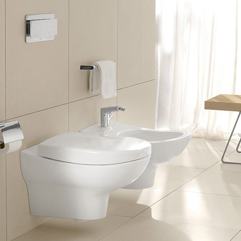 Биде подвесное Villeroy & Boch My Nature Plus 5410 00R1 alpin