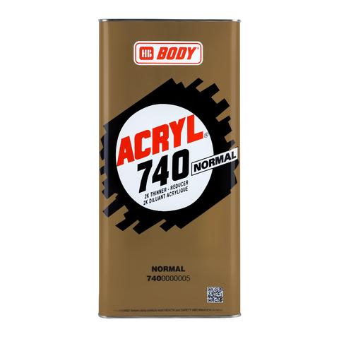 Растворитель HB BODY 740 ACRYL (норм.) (5л)
