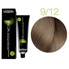 L'Oreal Professionnel INOA 9.12 (Очень светлый блондин пепельно-перламутровый) - Краска для волос