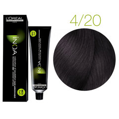 L'Oreal Professionnel INOA 4.20 (Шатен перламутровый) - Краска для волос