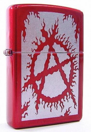 Зажигалка Zippo Flaming Anarchy (21063)