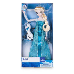 Кукла Эльза с питомцем Disney Холодное сердце