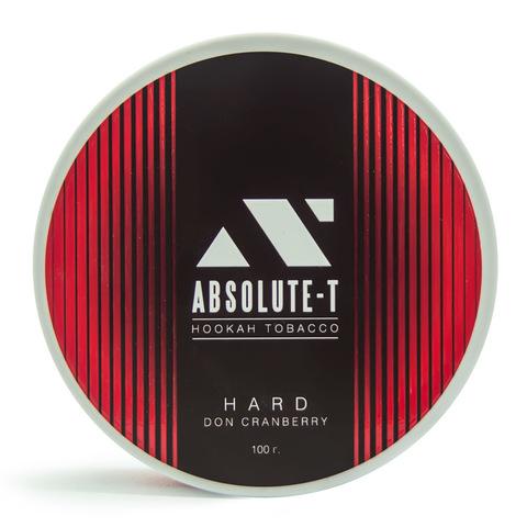 Табак Absolute-T Hard Don Cranberry (Клюква) 100 г