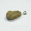 Подвеска Кварц в рамке (цвет - античное серебро) 34,1х26,5х11 мм №6