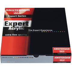 Набор акриловых красок Amsterdam Expert - 12 цветов в тубах по 20мл