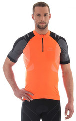 Велофутболка Brubeck унисекс (SS10410) оранжевая