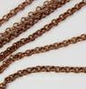 Цепь (цвет - античная медь) 2 мм, примерно 2 м