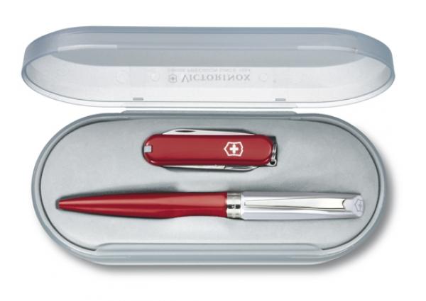 Набор нож Victorinox и ручка Caran d'Ache (4.4321.3)