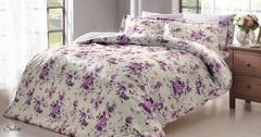 Постельное белье  SOLERI лиловый   TIVOLYO HOME Турция