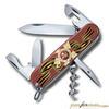 Нож Victorinox Spartan День Победы 91мм 12 функций красный (1.3603 VDAY) цена и фото