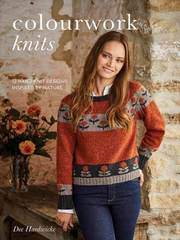 Книга COLOURWORK KNITS дизайнер Dee Hardwicke