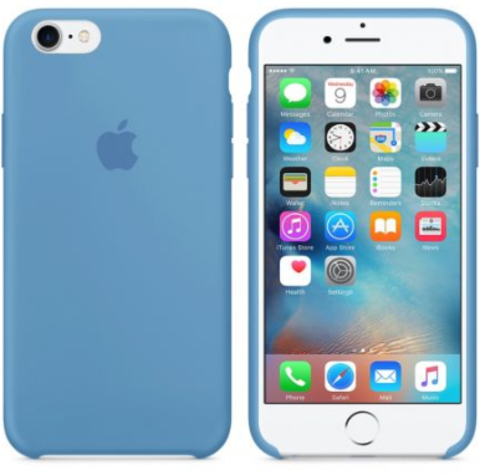 iPhone 7/8 Silicone Case  Denim Blue