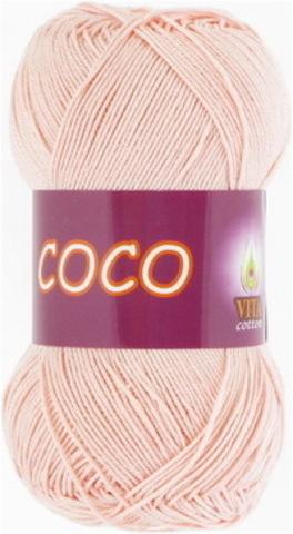 Пряжа Coco (Vita cotton) 4317 Розовая пудра