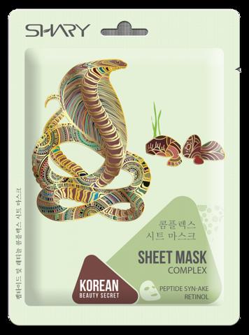 Shary Тканевая маска-комплекс для лица
