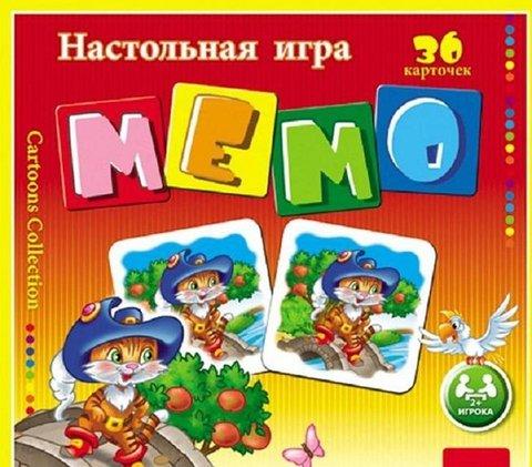 МЕМО 36 карточек Авторалли