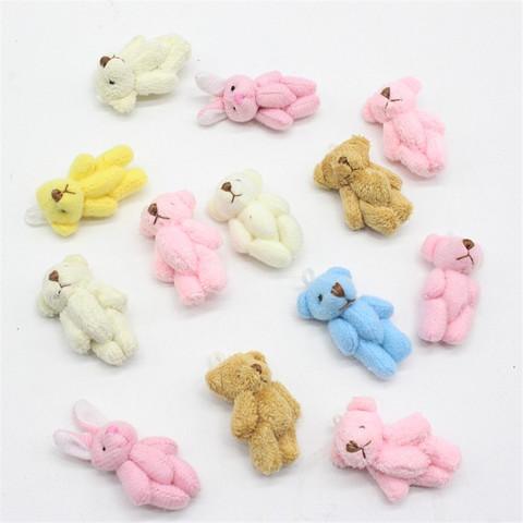 Іграшка для ляльки 4 см - ведмедик  маленький асорті