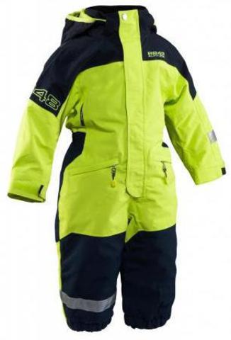 Комбинезон горнолыжный 8848 Altitude Dixon Min Suit Lime детский