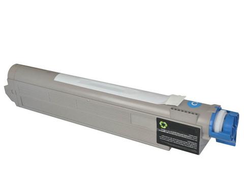 Совместимый тонер-картридж для OKI C9650/C9850, голубой. Ресурс 15000 стр