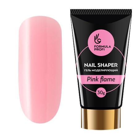 Формула Профи, Гель моделирующий NAIL SHAPER, цвет Pink flame 30 гр.