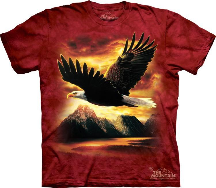 Футболка Mountain с изображением орла - Eagle