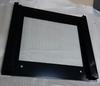 Наружнее, внешнее декоративное стекло дверцы духовки плиты Беко 410300614