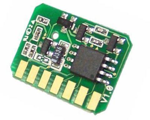 Чип OKI C710/C711 Magenta. Ресурс 11500 страниц. (Смартчип для малинового тонер-картриджа ОКИ С710 - С711)