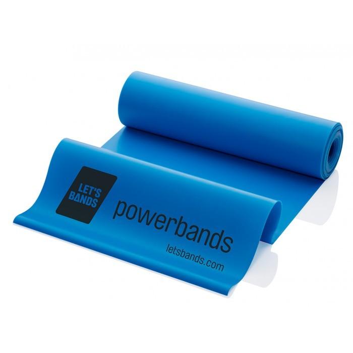 Продукция Let's Bands Эластичная лента POWERBANDS FLEX (тяжелое сопротивление, синяя) blue-01.jpg