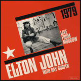 Elton John With Ray Cooper / Live From Moscow 1979 (Clear Vinyl)(2LP)