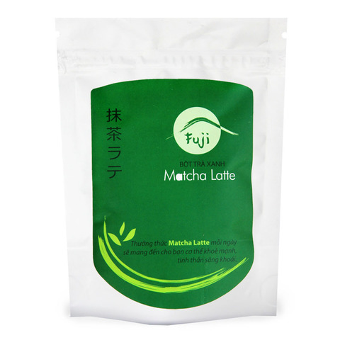 Вьетнамский зеленый чай Матча (маття) Латтэ, растворимый (3 в 1), Chinh Son, 200 гр.